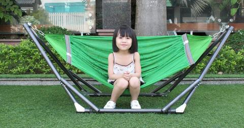 Bí quyết lựa chọn võng xếp cho trẻ em tốt nhất
